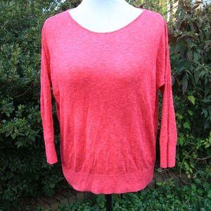 Lightweight Pink Sweater Gap Small